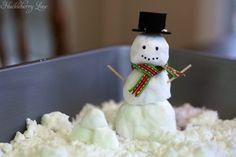 Huckleberry Life: Play Snow {Sensory Activity}