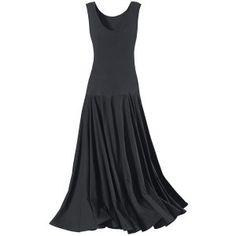 "Black Crystal Dress - Tucks underneath shorten hem and gather it into ""poofs"". Very cool and convertible."