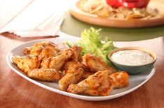 Zesty Grilled Wings recipe