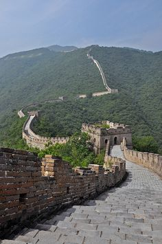 walked on the Great Wall of China, by AsiaCz, via Flickr