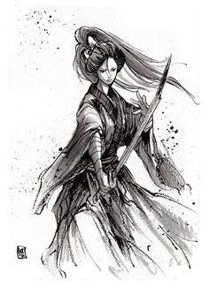 """Résultat de recherche d'images pour """"women samourai"""""""