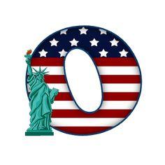 Usa News, New York, Symbols, Red, Blue, Ideas, Travel, Letters, New York City