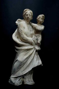 Sculpture en marbre, Italie XVIIe