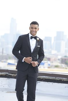 Make a style statement in our classic black tuxedo jacket. Our tuxedos are affordable and timeless, perfect for weddings and black tie affairs! Black Tuxedo Jacket, Tuxedo Pants, Groom Tux, Groom Attire, Black Tuxedo Wedding, Black Tie Affair, Black Suits, Groom Style, Wedding Suits
