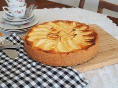 apfel-marzipan-kuchen-mandeln-rezept Pineapple, Baking, Fruit, Food, Almonds, Food Food, Recipies, Pine Apple, Bakken