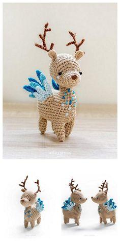 Amigurumi Cute Deer Free Pattern – Amigurumi Crochet Amigurumi Cute Deer Free Pattern – Amigurumi Crochet,Projects to try 2 Amigurumi Cute Deer Free Pattern – Amigurumi Crochet Crochet Deer, Cute Crochet, Crochet Crafts, Crochet Projects, Crochet Animals, Crochet Monkey, Crochet Amigurumi Free Patterns, Crochet Dolls, Crochet Mignon