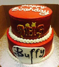 Buffy Cake Cake Decorating Ideas Pinterest Cake - Slayer birthday cake