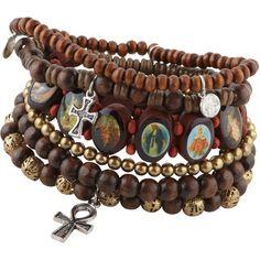 ALDO Kayseri bracelet ($15) found on Polyvore