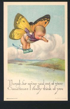 Isn't this adorable I thought of you.                   by Charles TWELVETREES card   eBay