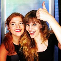 "Video: Stefanie Scott And Aubrey Peeples Talked ""Jem And The Holograms"" At The 2014 RDMAs"