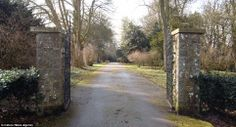 Entrance: The gates to Horton Priory, controlled by the Cluniac order of monks before the dissolution of the monasteries