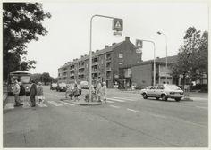 Kruispunt Rijksstraatweg/Muiderslotweg, 1981