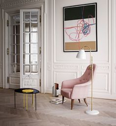 LIVING ROOM Sibyl Colefax & John Fowler Interior Design and design and decoration ideas design bedrooms French Apartment, Apartment Design, Parisian Apartment, Modern House Design, Modern Interior Design, Simple Interior, Home Interior, Interior Decorating, Bauhaus Interior