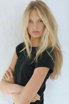 VS model Romee Strijd - hair
