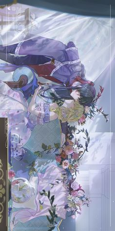 Anime Love Couple, Cute Anime Couples, Cute Cartoon Wallpapers, Animes Wallpapers, Anime Demon, Manga Anime, Familia Anime, Manga Collection, Anime Couples Drawings