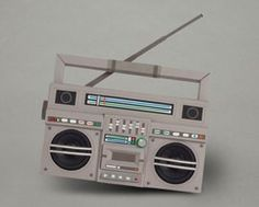 Build Your Own Cardboard Bluetooth Speaker Boombox — Daily Tech Find