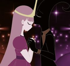 Nergal And Princess Bubblegum Anime Kissing With All They're Hearts For Love :) <3