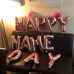 Happy Name Day Party Balloon Banner Game of Thrones Themed Balloon Banner, Balloon Decorations Party, The Balloon, Party Themes, Happy Name Day, Happy Names, Mylar Balloons, Latex Balloons, Baby Birthday