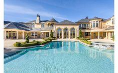 Tipler Luxury Homes Dream Home Design, My Dream Home, House Design, Living Pool, Casa Patio, Dream Mansion, Home Modern, Luxury Pools, Luxury Homes Dream Houses