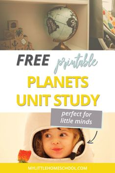 My children are fascinated by the night sky. If your kids share this fascination, then this printable planets unit study is for you! #unitstudy #homeschool #homeschooling #mylittleunitstudy #mylittlehomeschool My Litt, Free Planet, Study Photos, Unit Studies, Writing Practice, Activities To Do, Homeschooling, Children, Kids