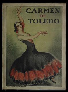 "Courtesy of the Biblioteca de Catalunya (http://www.bnc.cat): ""Carmen de Toledo"", 1931. (Rights Reserved - Free Access) http://www.europeana.eu/portal/record/91906/AA284510033B34865BC910C7FE943630895E17A5.html"