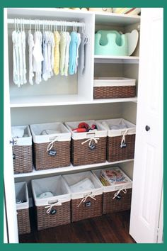 Nursery Closet Organization Ideas Baby Storage And For Room Nurseryclosetorganization
