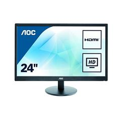AOC TN HDMI VGA x VESA, Widescreen Monitor at PC and Laptops Accessories Product Library - aoc 24 inch class led lit monitor full hd 1 dcr vga hdmi vesa narrow bezel Arduino Cnc, Audio, Hd Led, Samsung, Built In Speakers, Lcd Monitor, Usb, Speakers, Monitor