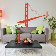 Adesivi murali San Francisco