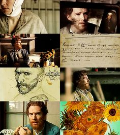 Benedict Cumberbatch as Van Gogh - HOLY OH MY FREAKING GOD THIS NEEDS TO HAPPEN RIGHT NOW SO MY LIFE CAN BE COMPLETE