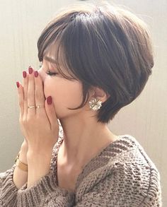 Popular Short Haircuts 2018 – 2019 - Love this Hair, esp 43 & de cheveux courtes populaires 2018 – 2019 – Love this Hair - Only Ring!Popular Short Haircuts 2018 – 2019 Popular Short Haircuts 2018 – 2019 – Love this Hair Popular S Popular Short Haircuts, Cute Short Haircuts, Cute Hairstyles For Short Hair, Short Hair Cuts, Curly Hair Styles, Hairstyles 2018, Haircut Short, Sexy Bob Haircut, Choppy Haircuts