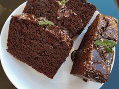 Brownie brownie w keksówce Brownie Cookies, Cake Cookies, Gluten Free Recipes, Healthy Recipes, Food Cakes, Sweet Desserts, Chocolate Cake, Cake Recipes, Deserts