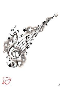 die 16 besten bilder von notenschlüssel | notenschlüssel, tattoo notenschlüssel und violinschlüssel