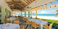 Iberostar Grand Hotel Rose Hall - dining with a view! YES!
