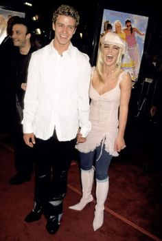 Britney Spears + Justin Timberlake