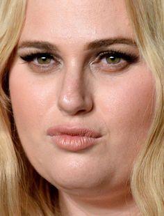 rebel wilson rebel wilson red carpet makeup celeb celebrity celebritycloseup