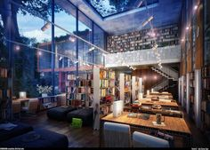 Esta casa: | The 30 Best Places To Be If You Love Books