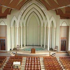Linda a arquitetura desa Casa de oração Da Congregação Cristã No Brasil