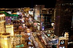 Like a scene out of The Hangover movie, take in the Las Vegas scene from a hotel rooftop.