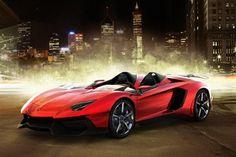 Yummy! 2012 Lamborghini Aventador J