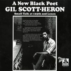 <cite>Small Talk At 125th And Lenox</cite> by Gil Scott-Heron