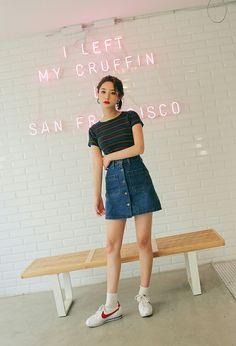Byeon Jungha - Model - Korean Model - Ulzzang - Stylenanda - 3CE