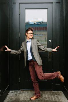 Dom Brassey // Partner at Saint Harridan suit company