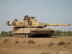 For the M1A2 upgrade programme, more than 600 M1 Abrams tanks were upgraded to M1A2 configuration at the Lima Army tank plant between 1996 and 2001. Description from robertnyakundi.wordpress.com.