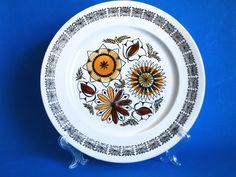 Kathie Winkle Calypso Dinner Plate  Vintage by FunkyKoala on Etsy