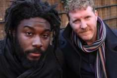 "Jason Reynolds and Brendan Kiely are co-authors of this year's One Maryland One Book, ""All American Boys."""