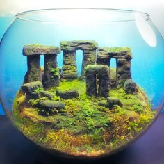 Stonehenge Ancient Ruins  Fantasy Terrarium / by Megatone230