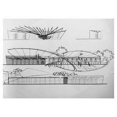 Nice, clean sketches nexttoparchitects: By Suzrad