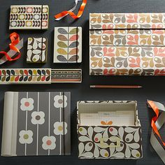 Look no further than this colourful stationery range by Orla Kiely to give your office that mid-century vibe!