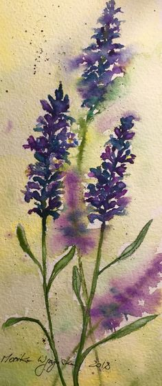 Watercoulor painting Monika Wyszynska