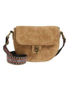 Elle & Jae Gypset Marrakesh faux suede crossbody bag